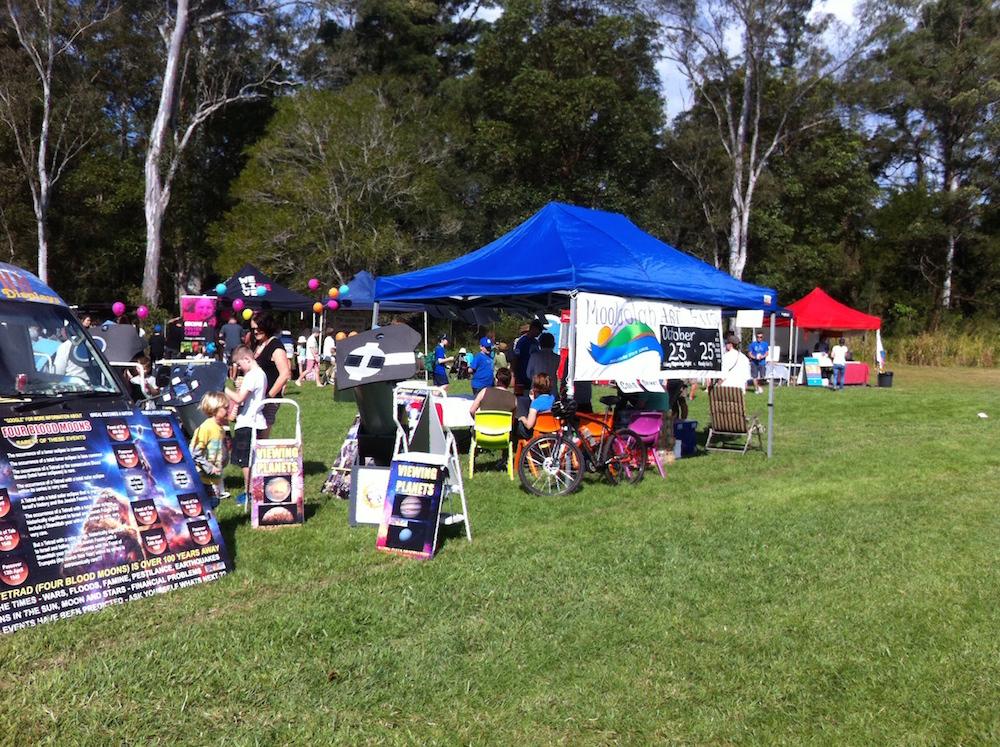 Mooloolah Art Fair Tent at Moofest 2015
