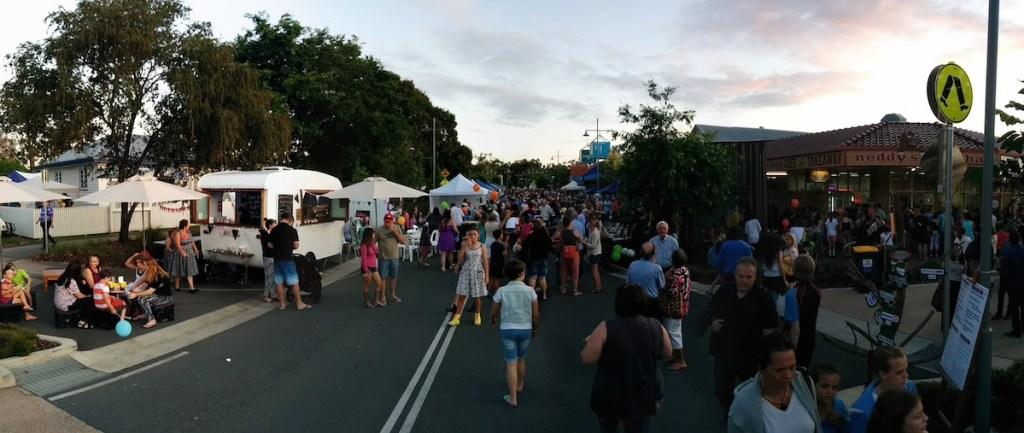 Beerwah Simpson Street Beerwah Street Party 2015