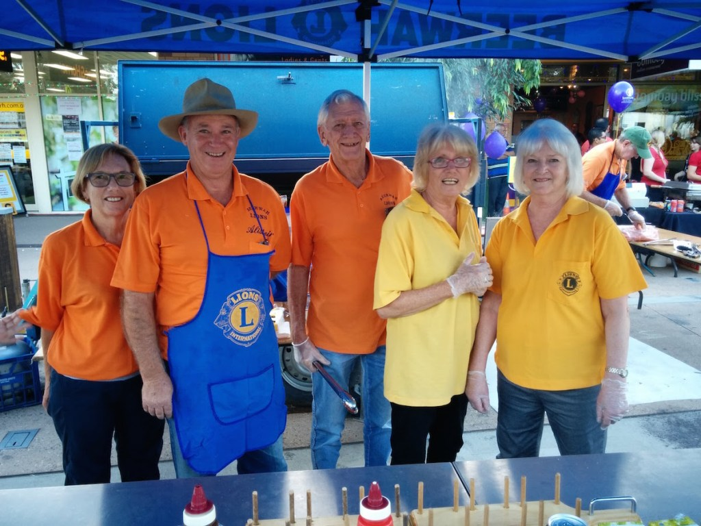 The Lions at Beerwah Street Party 2015