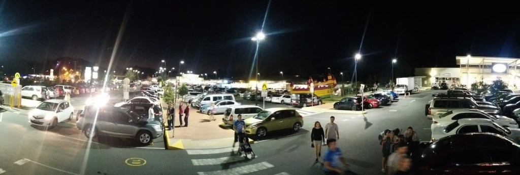 The Woolworth and IGA Car Park Beerwah Street Party 2015
