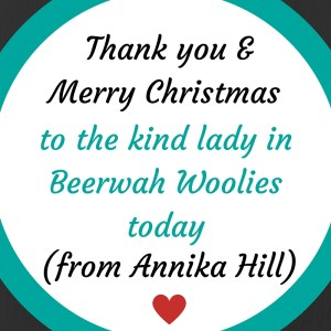 To the Kind Lady in Beerwah Woolworths