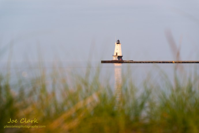 Ludington Lighthouse on the first day of Summer by Joe Clark www.glasslakesphotography.com