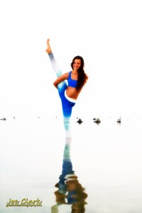 Kara B. Yoga at Old Mission. By Joe Clark.