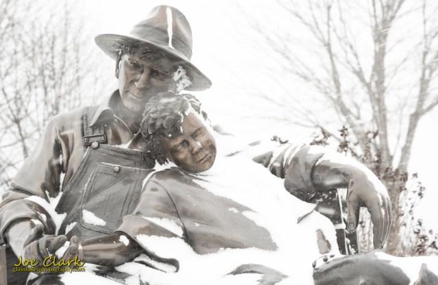 Frozen couple by Joe Clark www.glasslakesphotography.com