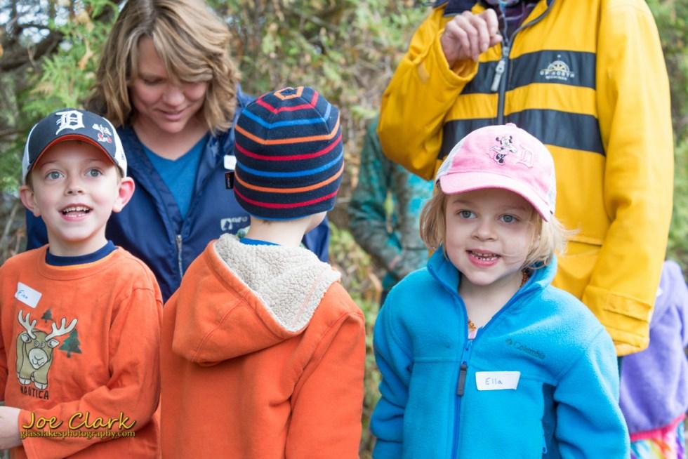 Petoskey photographer Joe Clark little traverse conservancy children birding