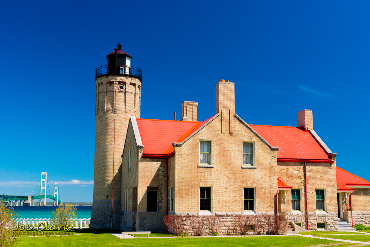 Mackinaw City Mackinac lighthouse state park photographer Joe Clark
