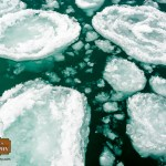 Ice disks in Bay Harbor Photographer Joe Clark