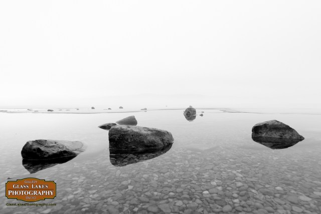 Solitude stones on Walloon Lake, photographer Joe Clark