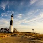 Big Sable Lighthouse scenery. By Joe Clark.