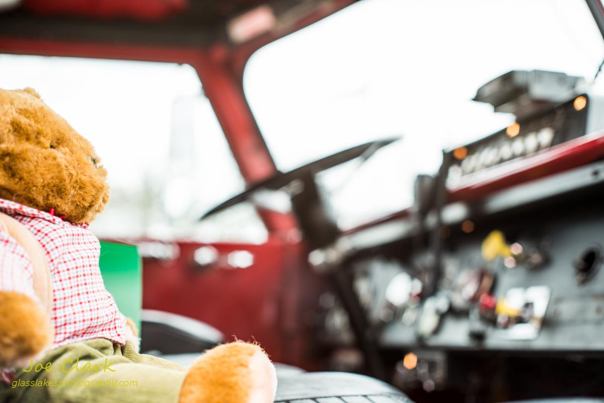 Teddy Fireman. By Joe Clark.