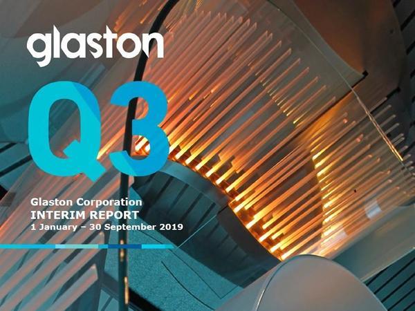 Glaston Interim Report Q3
