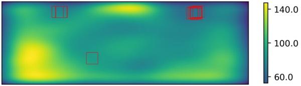 4 mm Tempered Glass Heatmap