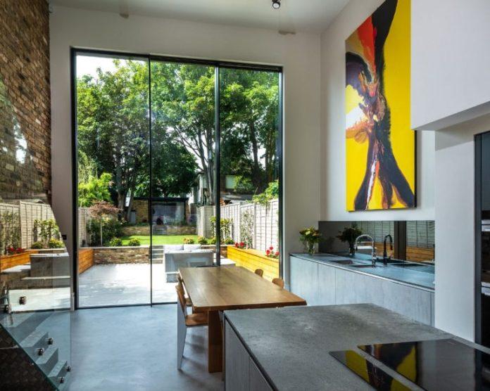 IQ Glass Tall Sliding Doors - Kingston Road