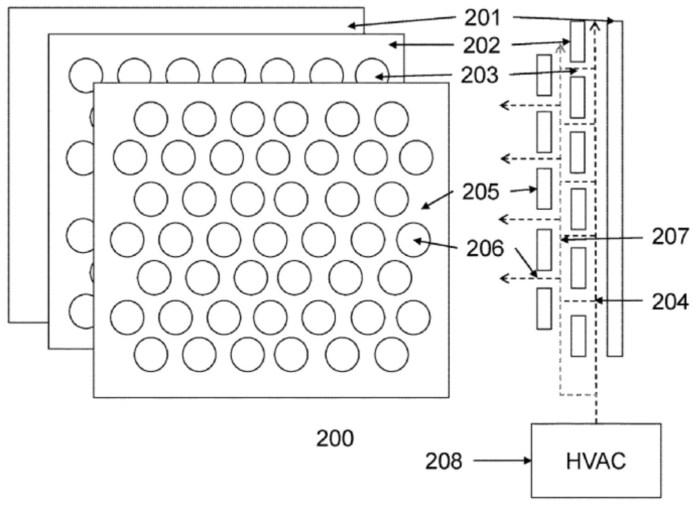 Tesla Glass Patent Application Drawing