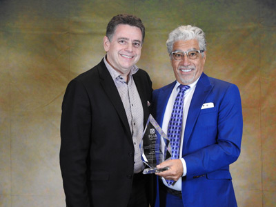 Architectural Distinguished Service Award – Carl Troiano (Trojan Powder Coatings)