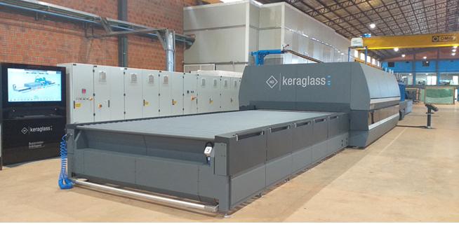 Keraglass installs the fourth tempering furnace at Vidriocar