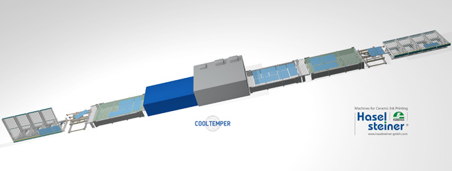 Haselsteiner: automatic tempering furnace bed loading and unloading system