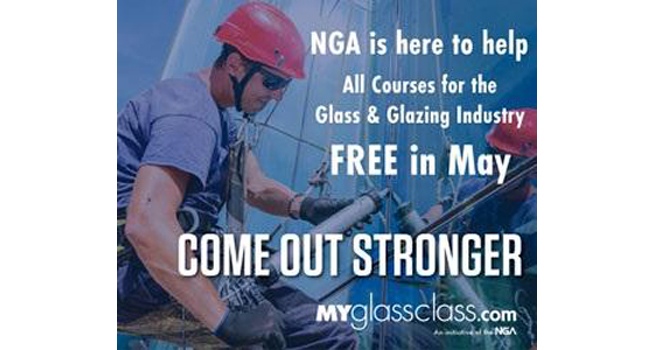 NGA: MyGlassClass.com courses available for free in May
