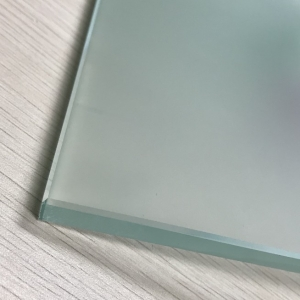 15mm frosted tempered glass panels 15mm Acid etched toughened glass price 15mm translucent