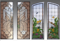 Custom Stained Glass Windows | Glass Menagerie