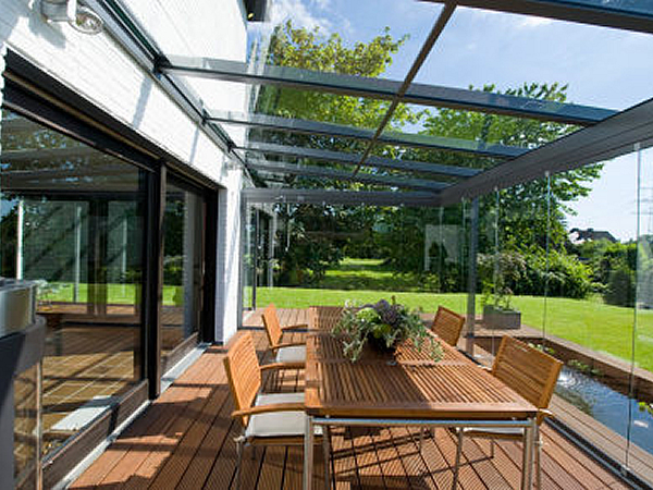 How to Construct A Glass Canopy for Patios  glassonwebcom