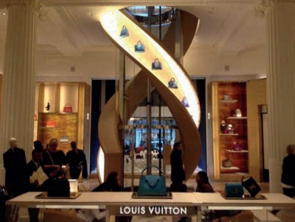 Image 4 New lift for Louis Vuitton at Selfridges- ground floor, Felix Weber