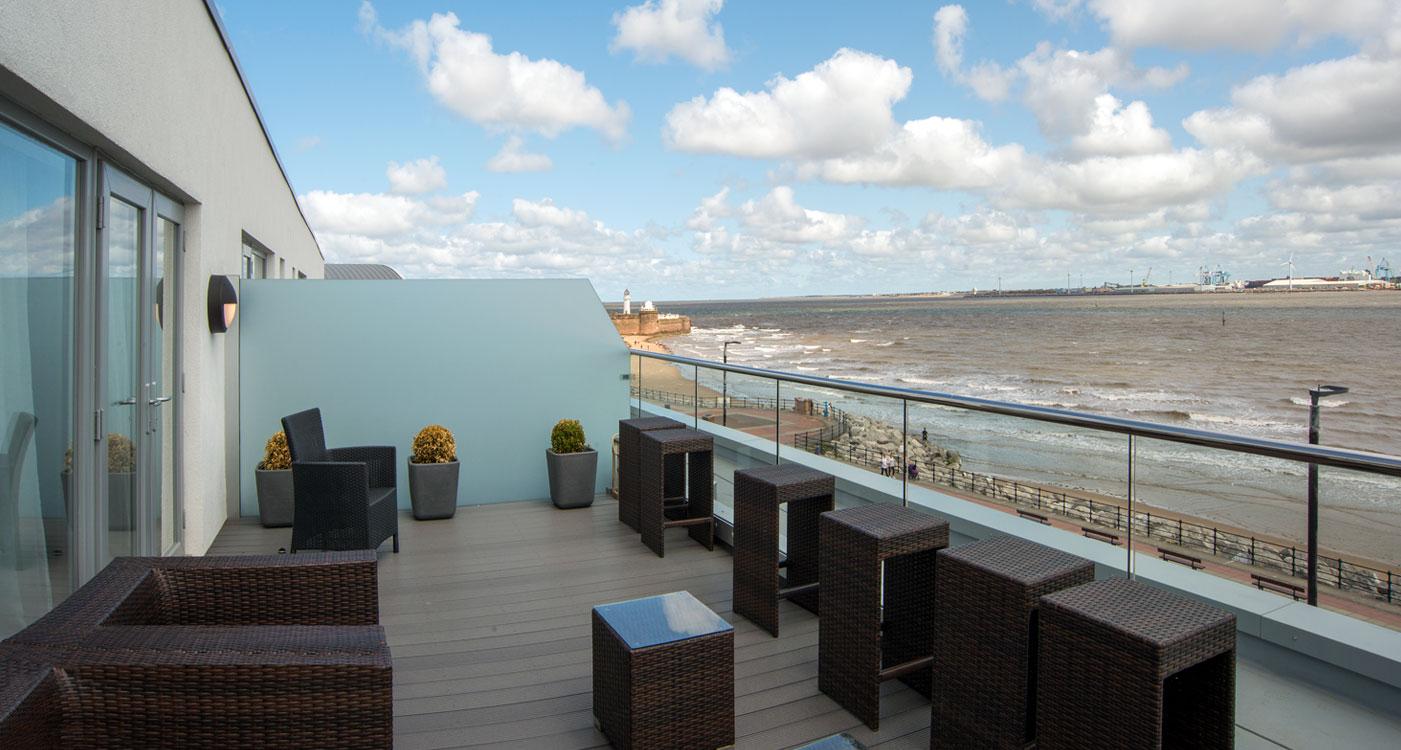 New Brighton Promenade Apartments Glassrooms
