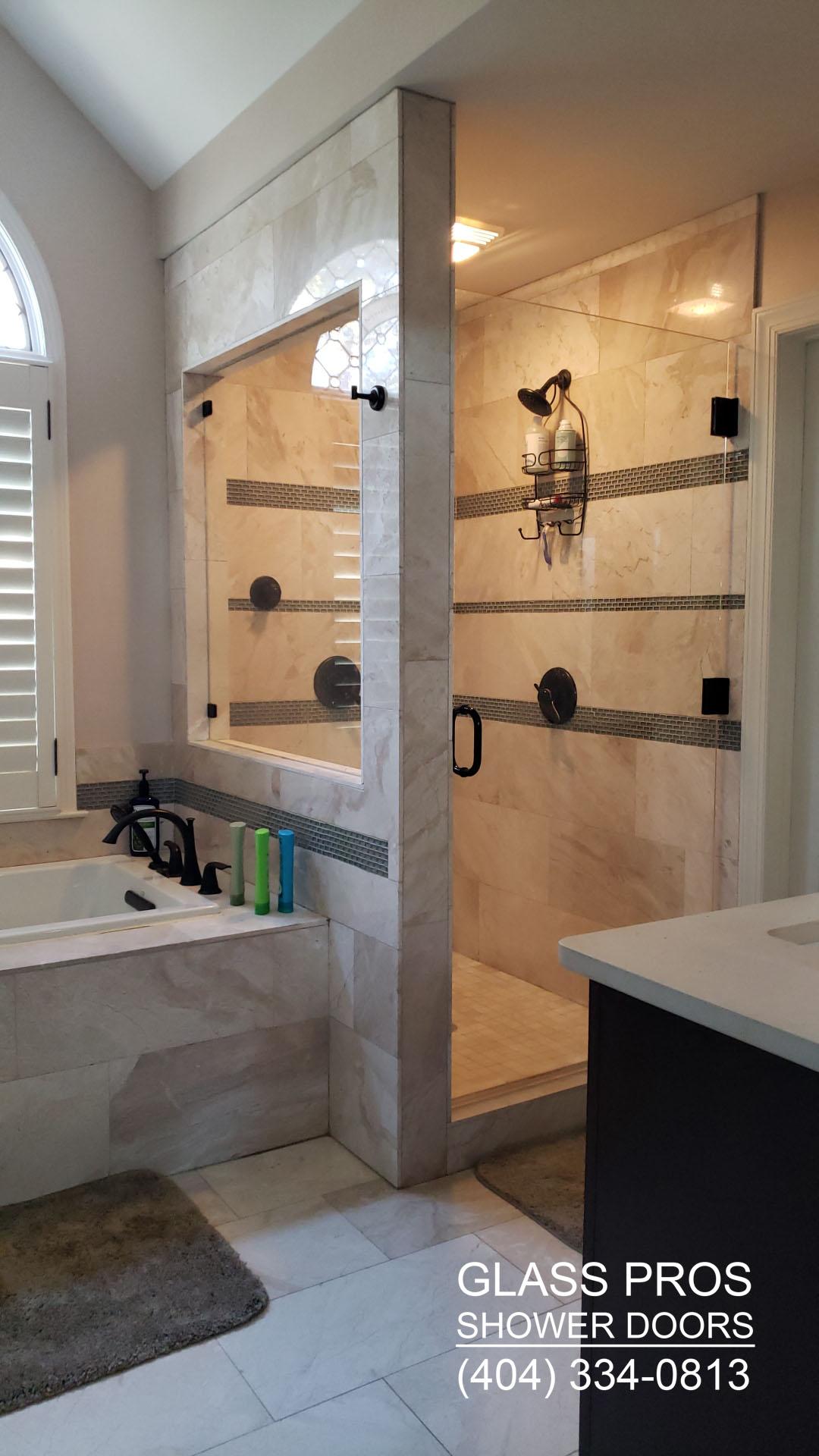 Frameless Glass Shower Doors Installation Custom
