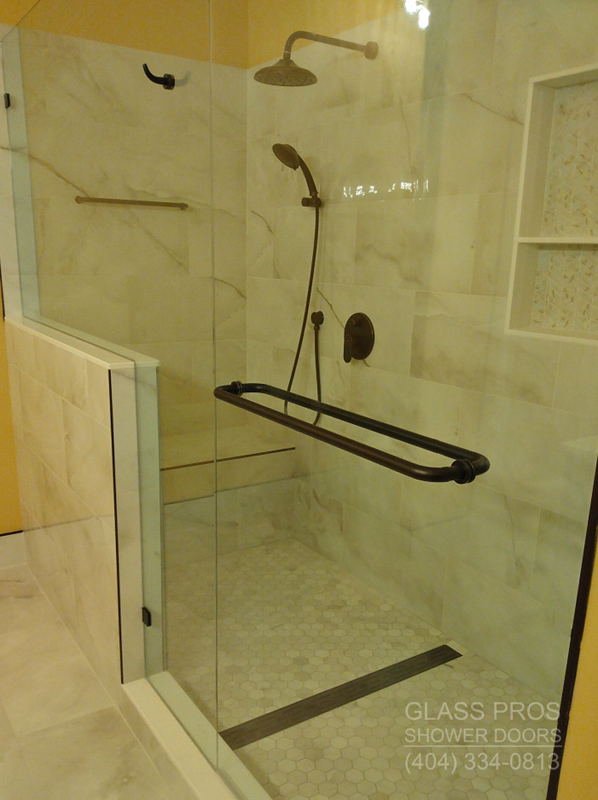 Frameless Glass Shower Enclosures Custom Seamless