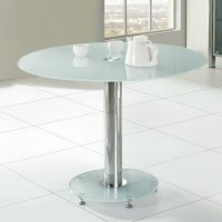 Dining Table: Small Round Glass Dining Table Chairs