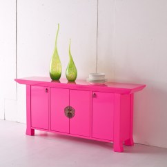 Neon Pink Chair Fisher Price Rainforest Healthy Care High 2 39illumina 39 Contemporary Orient Inspired Sideboard