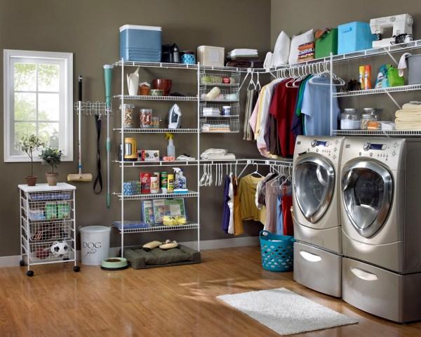 Laundry Room Closet Organizer