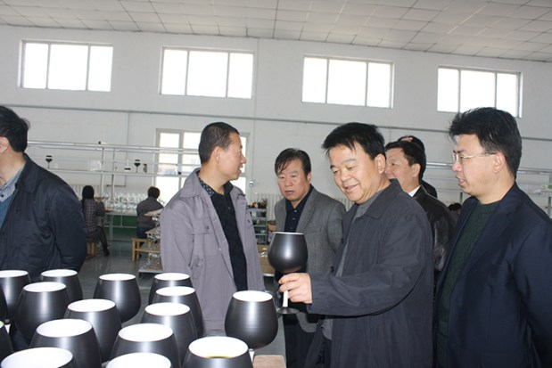glassware factory