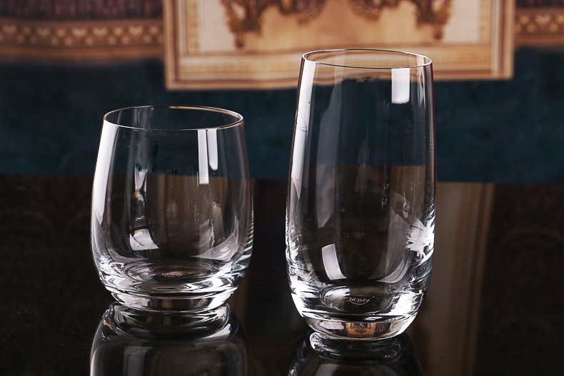 Glass drinking cups for sale types of beverage glasses wholesale