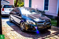 2014 Mercedes Benz CLA 250 Window Tinting