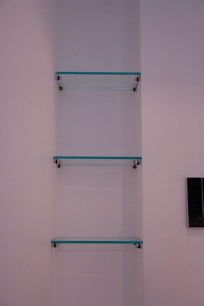 Glasmbel und Glasregale der Glaserei Glasteam Mnchen
