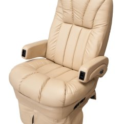 Rv Captain Chair Seat Covers Bamboo Lounge Glastop Motorhome Furniture Custom Furnishings Dinettes Chairs Recliners