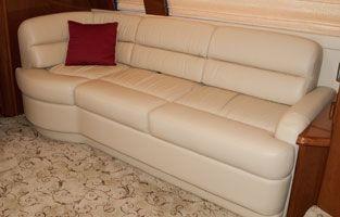 RV Sofas Glastop RV & Motorhome Furniture Custom RV & Motorhome