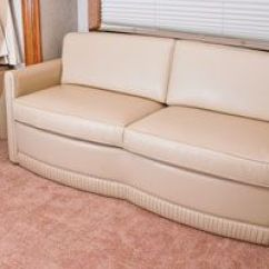 Jackknife Sofa For Rv Flexsteel Villa Premium Glastop Motorhome Furniture