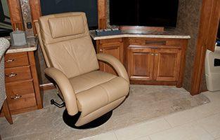 euro recliner chair thick carpet mat villa recliners glastop rv motorhome furniture custom