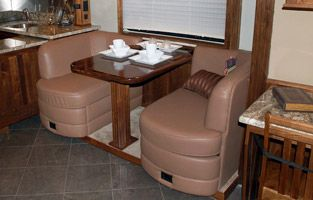 Flexsteel Dinettes Glastop RV  Motorhome Furniture