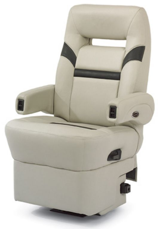power chair with tracks dining covers velvet flexsteel 266 busr captains chair, glastop inc.