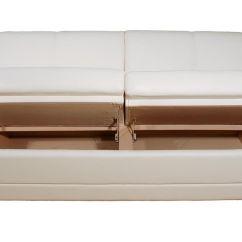 Lambright Comfort Chairs White Bistro Chair Hire Comp3-i Straight Custom Sofa 61-82l W/ Storage, Glastop Inc.