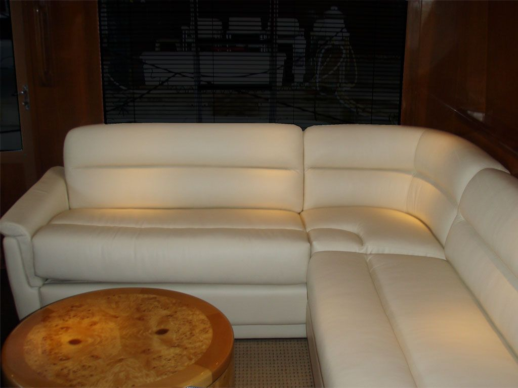 rv furniture captains chairs brenton studio chair marine sectional j glastop inc