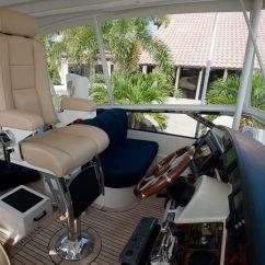 Flexsteel Chair Prices Teak Dining Chairs Upholstered   Glastop Marine Furniture Custom Yacht & Boat Furnishings Pompano Beach Fl