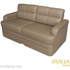 Jackknife Sofa Bed Cosmo Red Leather Villa Imperial Glastop Inc
