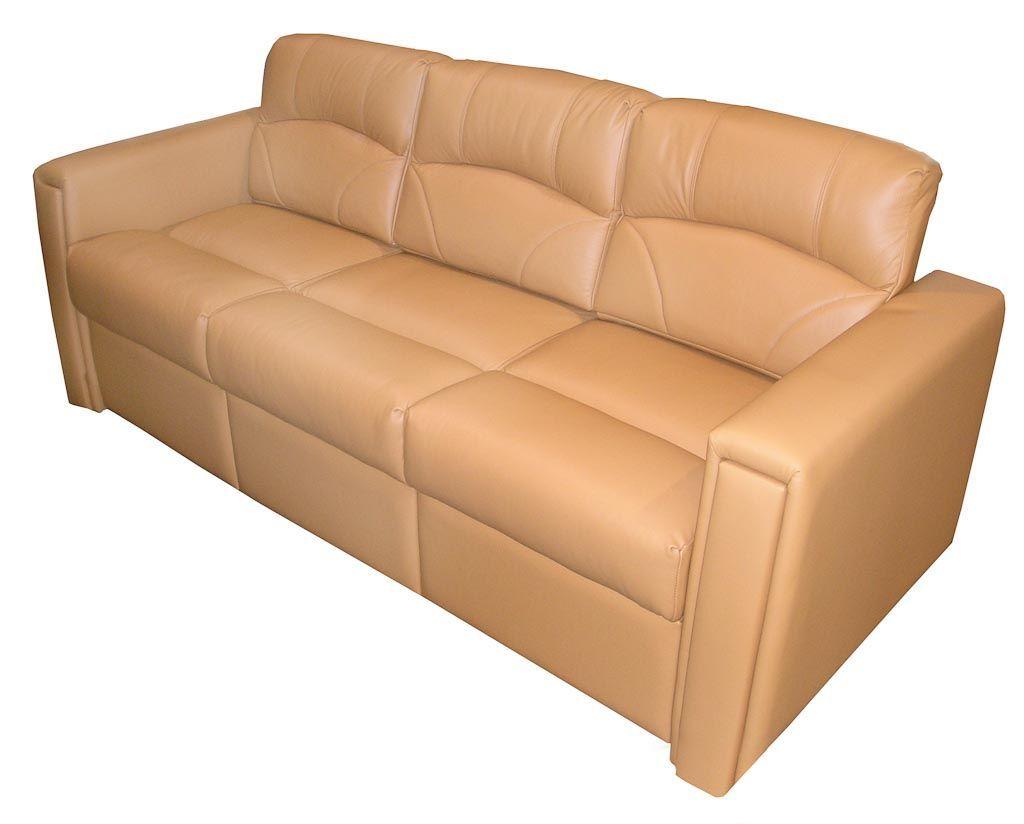 rv reclining sofa sleeper mid century modern light gray avery villa rumley glastop inc