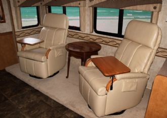 beach chairs with footrest office chair workout equipment photo gallery, glastop rv & motorhome furniture | custom furnishings pompano ...