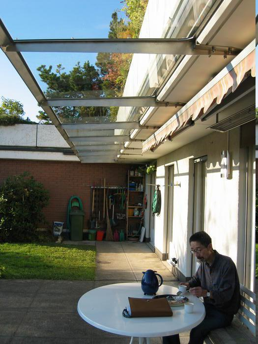 Vordach Foto Galerie von Glasvordachch