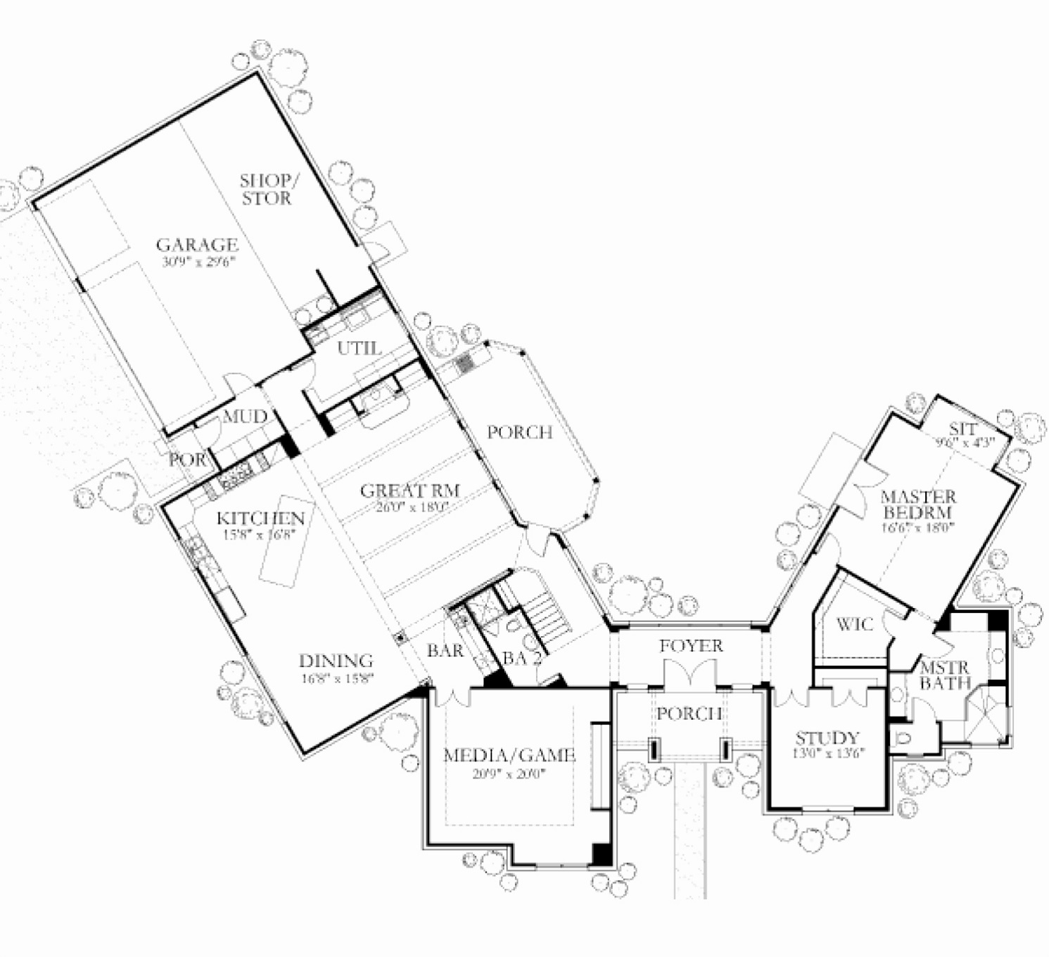 Inspirational custom home building plans house floor ideas for Custom home floor plans
